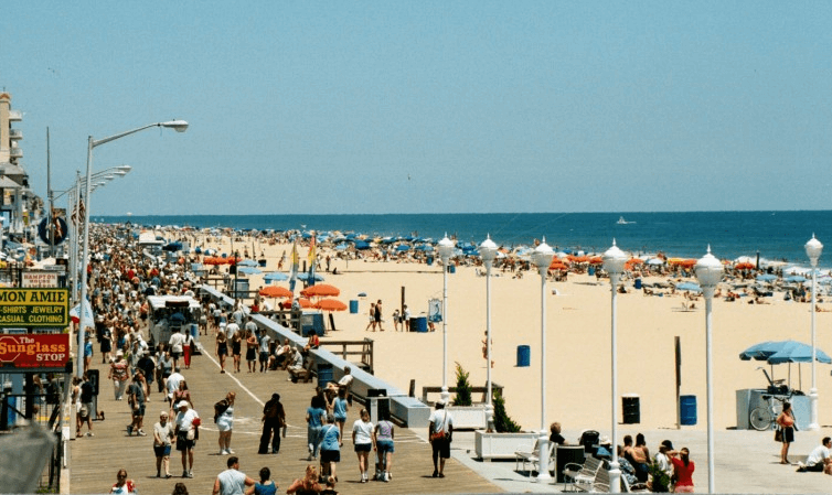 A Guide to the Ocean City Boardwalk Things to do in Ocean City MD