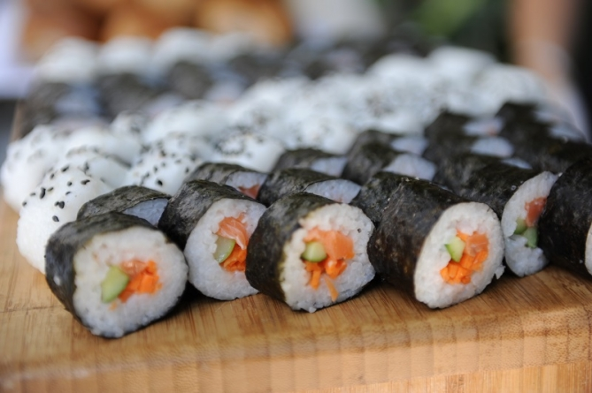 Ocean = Fresh Fish = Great Sushi right? Sometimes