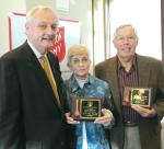 KIWANIS CLUB PRESENTED SALVATION ARMY AWARD
