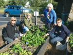 As growing season ends, group gathers one last time at garden