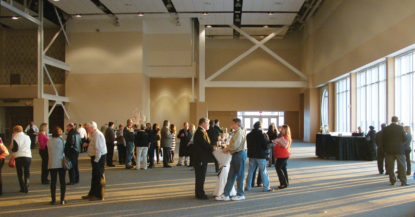 Convention center ballroom officially opens