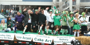 Ocean City St. Patrick's Day Parade 2018 info