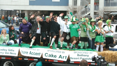 Ocean City St. Patrick's Day Parade info