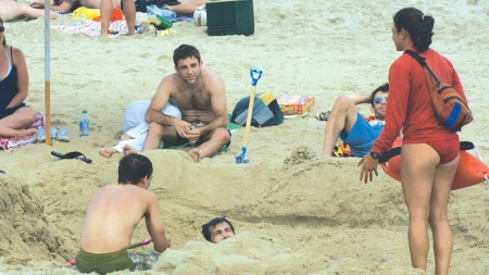 Digging holes in sand can be serious hazard for beachgoers