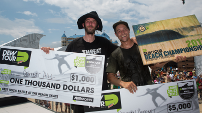 Pedro Barros Takes Third Consecutive Skate Bowl Win at Dew Tour Beach Championships