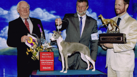 Lily-Belle wins top awards at dog show