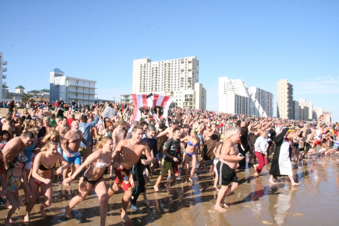 'The March of the Penguins,' Ocean City style
