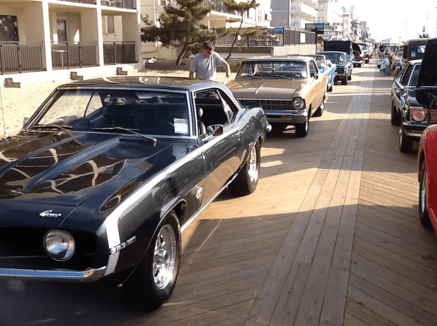 Ocean City Car Show May  Schedule Of Events