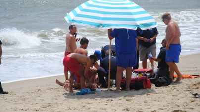 OCBP rescues bodysurfing victim off 82nd St. beach