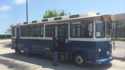 Trolley services offered to and from Berlin, WOC, OP