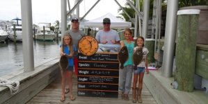 Anglers reel in variety of fish during tourney