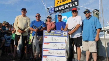 More than $529K awarded to tuna tourney winners