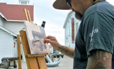 Take a art walk this weekend