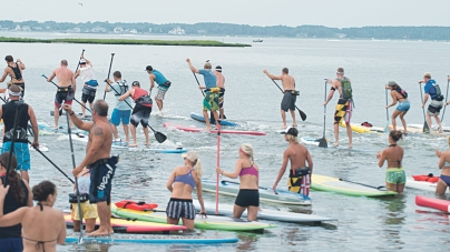 Fourth Battle on the Bay event at Fager's Island, Sat.