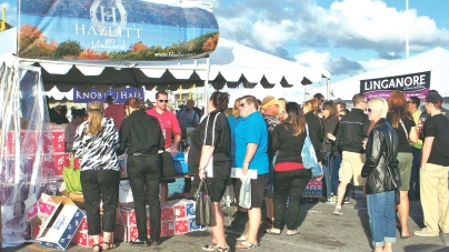 Annual wine festival features 16 vineyards