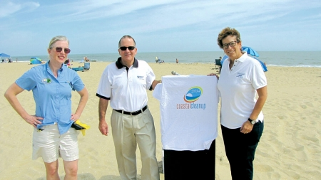 Coastal Cleanup in OC, other areas