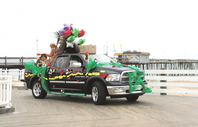 Drive in Disguise Boardwalk Parade set for Oct. 25