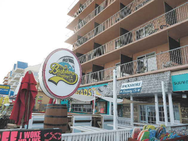 Ocean City Boardwalk Restaurants And Bars