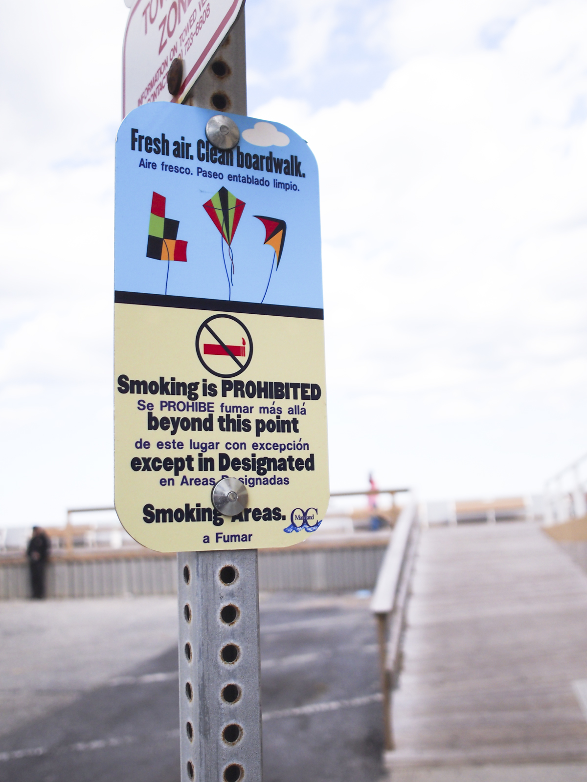 Boardwalk smoking stops today