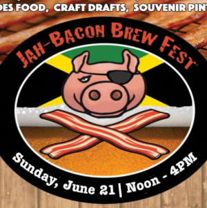First Jah-Bacon Brew Fest this Sunday at Seacrets