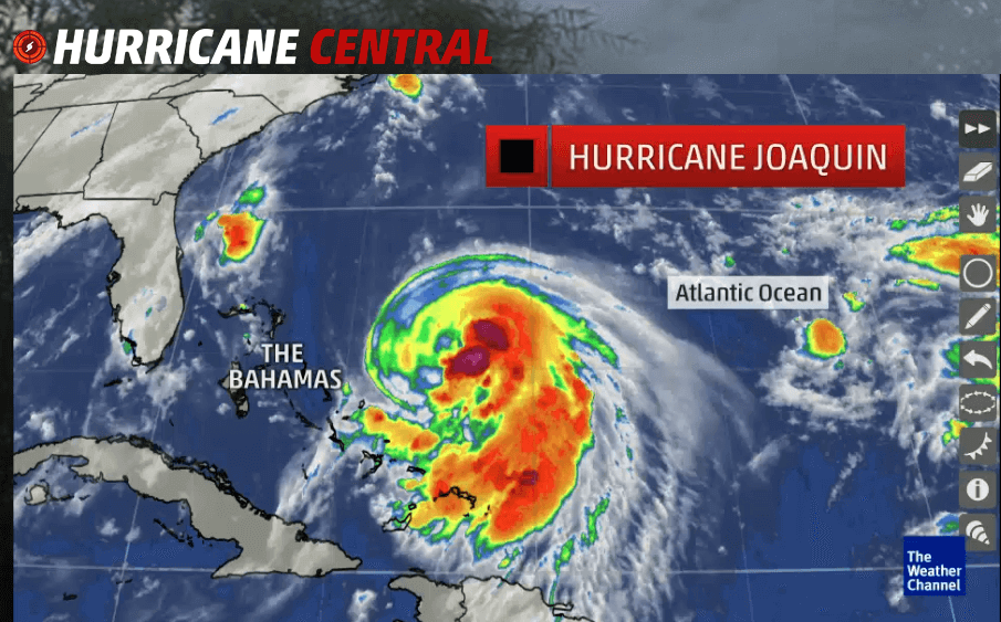 Hurricane Joaquin from Weather.com