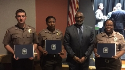 Correctional officers graduate with honors