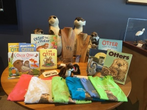 Otters have taken over the Discovery Center Gift Shop.