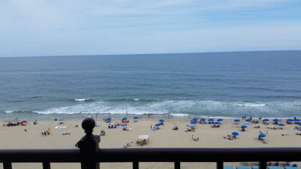 The view from the deck at the Dunes is like no other because it is often from a solid rocking chair with a cold drink in your hand.
