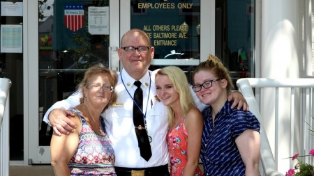 "Charles ""Chuck"" Barton Retires from Ocean City Fire Department after 33 Years of Service"