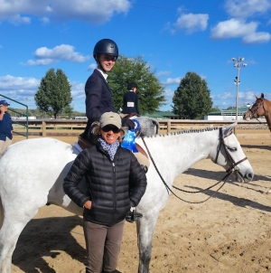 Local rider qualifies for Washington International Horse Show