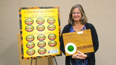 Ocean City honored at MML Sustainable Maryland Awards Ceremony