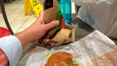 Beer at Burger King: A new low or the perfect meal?