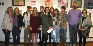 Congratulations to winners of the Ocean City/Berlin Optimists High School Art Contest!