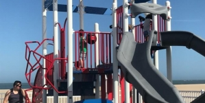New on the Boardwalk, the first Ocean City beach playground