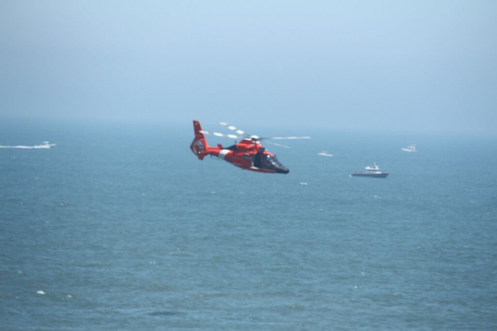 Coast Guard Helicopter OC Airshow