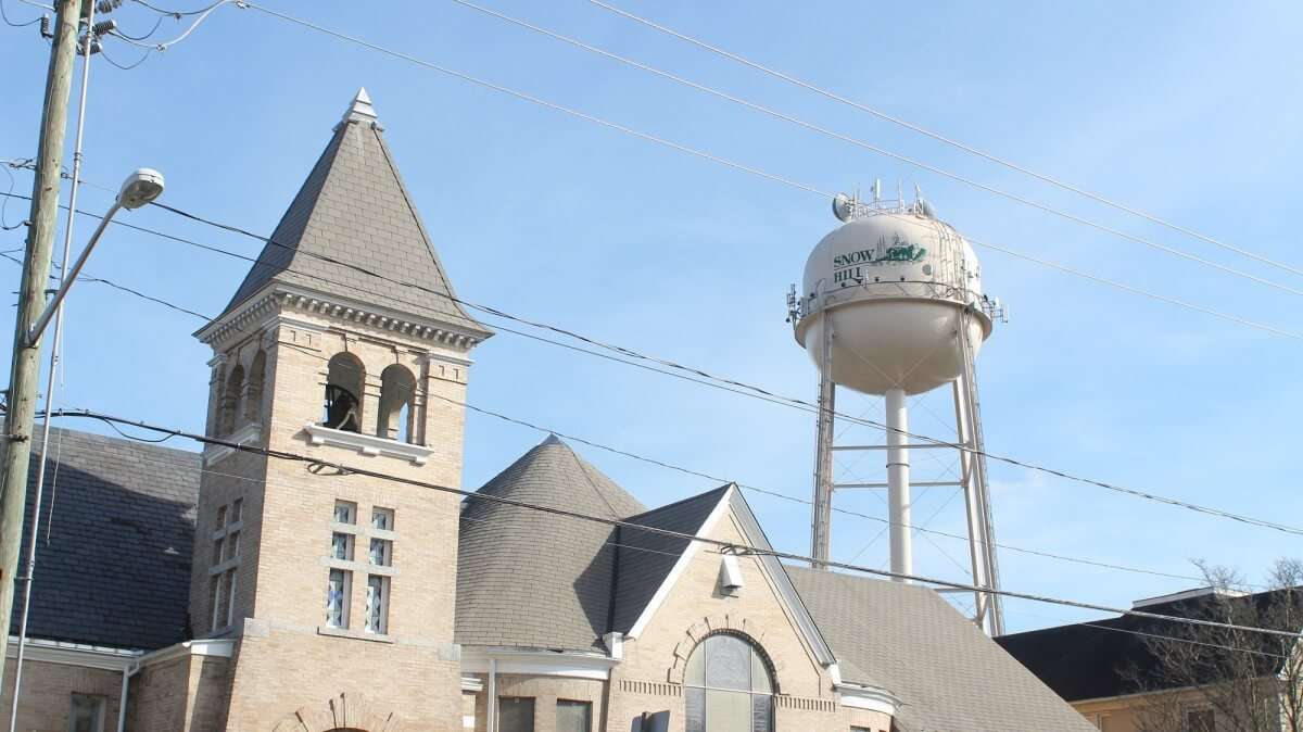 Snow Hill water tower