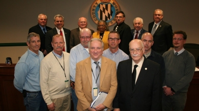 Commissioners recognize staff for service during snow storm