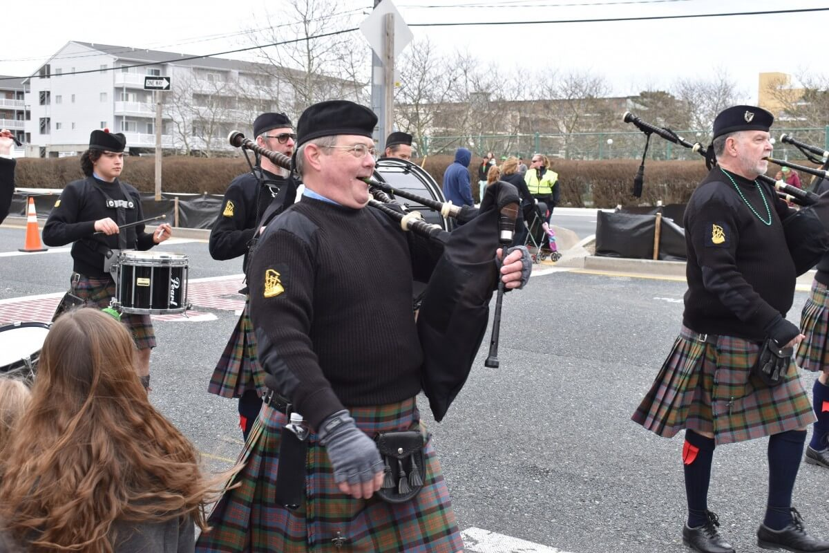 St. Patrick's Day Parade bagpipes