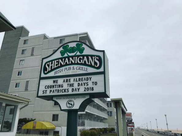A handy schedule of St. Patrick's Day Shenanigans