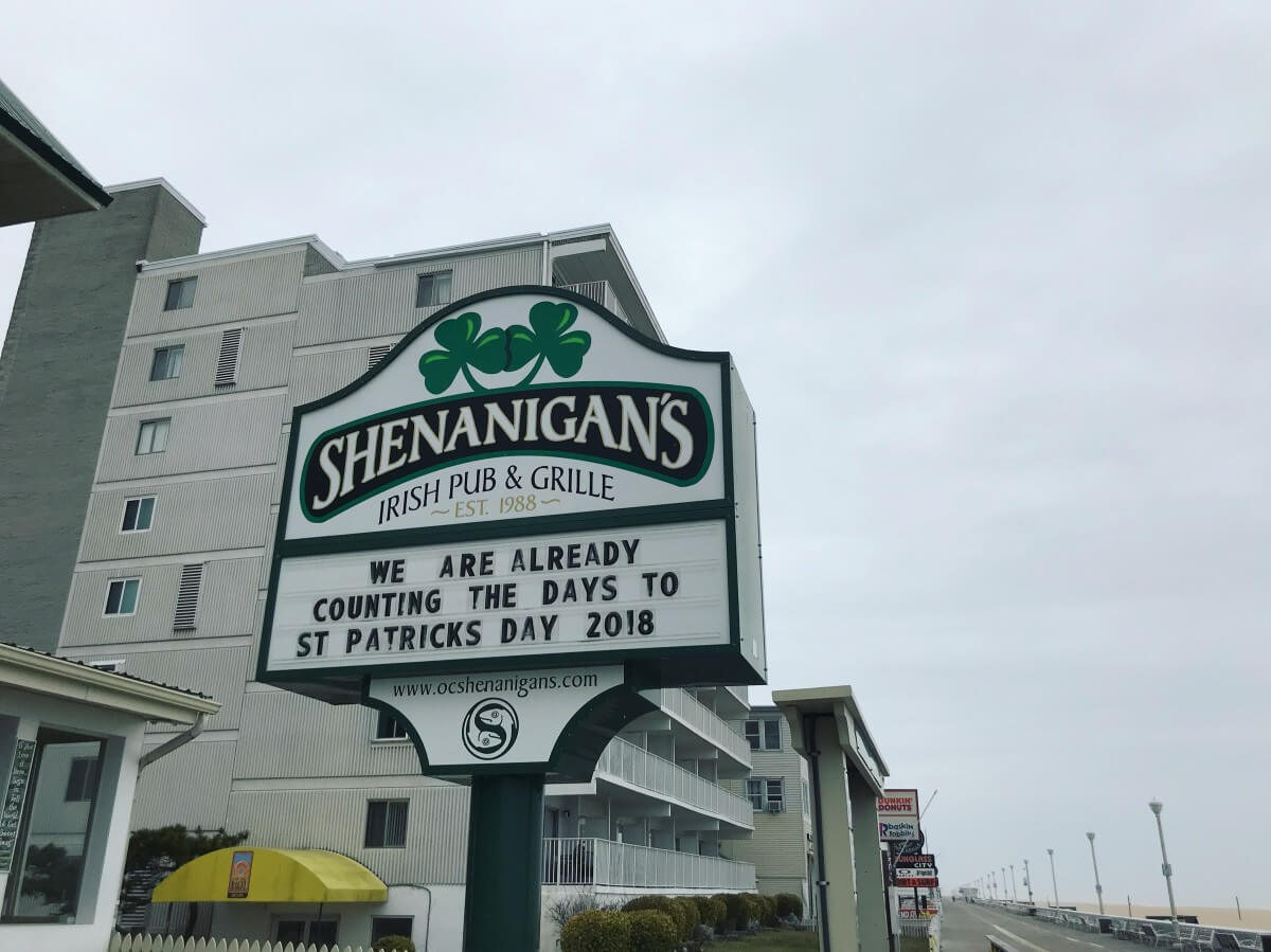 A Handy Schedule Of St Patrick S Day Shenanigans
