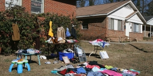 Spring Cleanup & Yard Sale Set for April 7-8